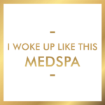 I woke up like this med spa logo